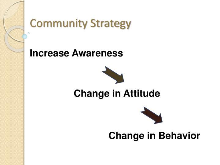 Community Strategy