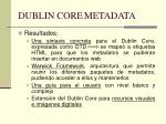 dublin core metadata1
