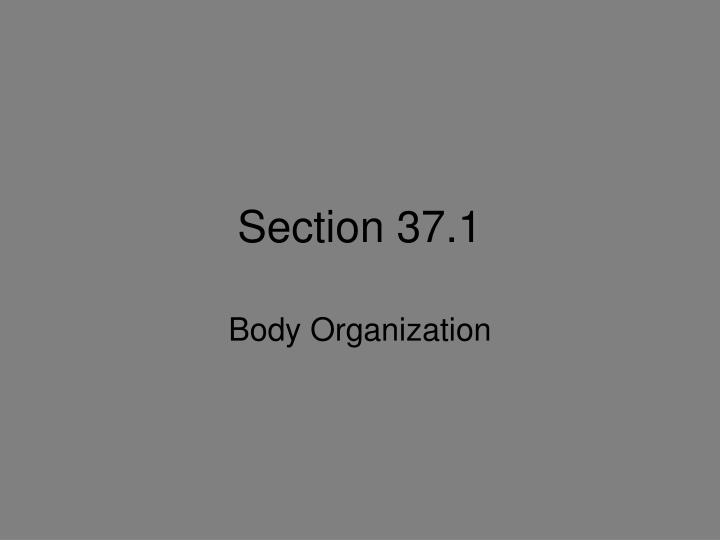 Section 37 1