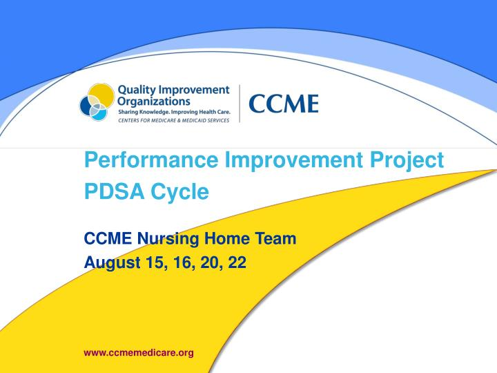 the performance improvement project Performance improvement tools and methods cms transplant program quality  project structure all projects should have a foundation established at the.