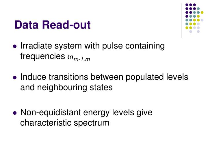 Data Read-out