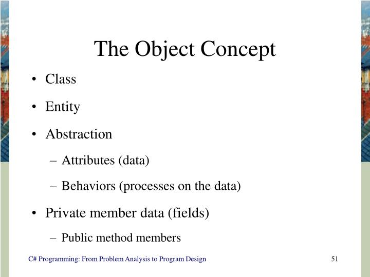 The Object Concept