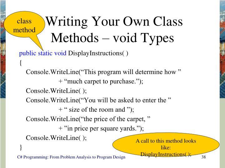 class method