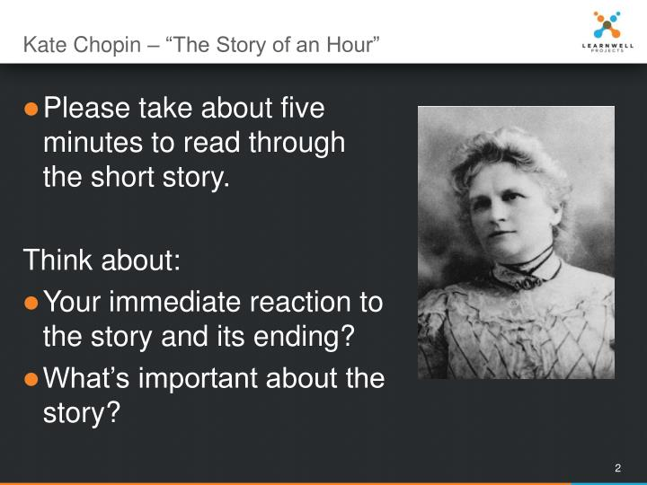 Kate chopin the story of an hour