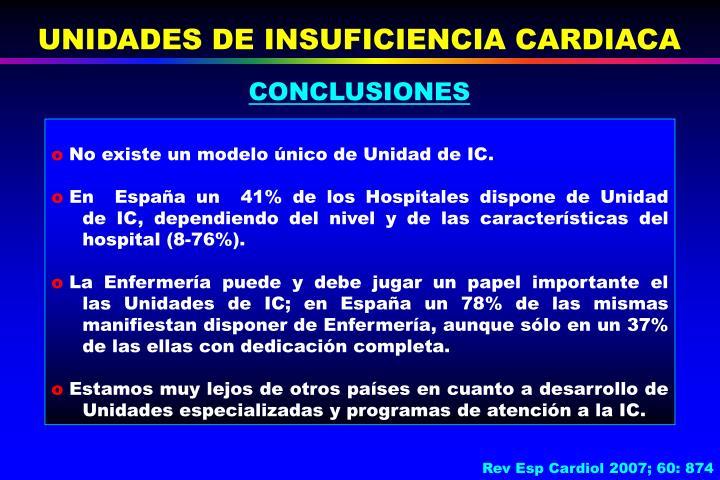 UNIDADES DE INSUFICIENCIA CARDIACA