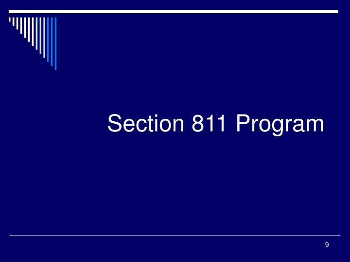 Section 811 Program