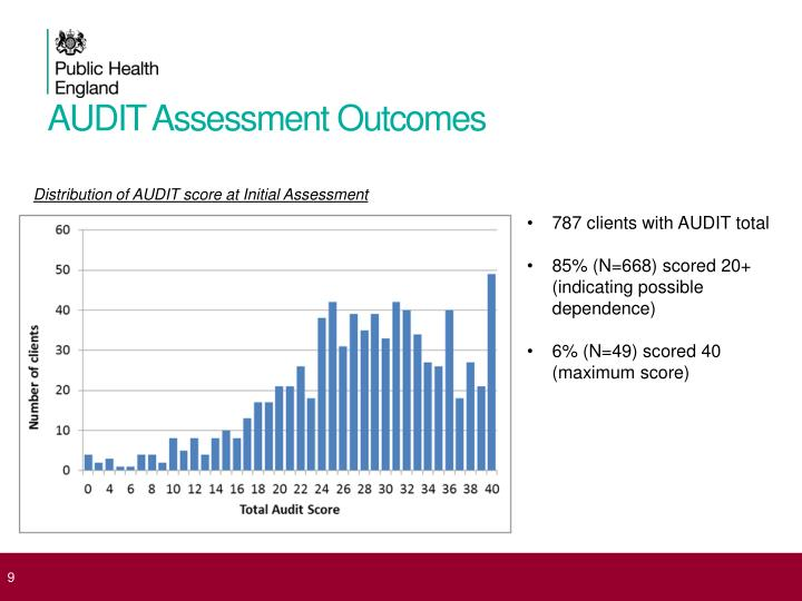 AUDIT Assessment Outcomes