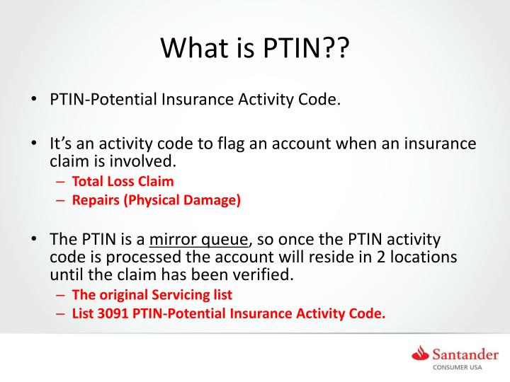 What is PTIN??