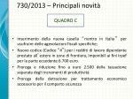 730 2013 principali novit1