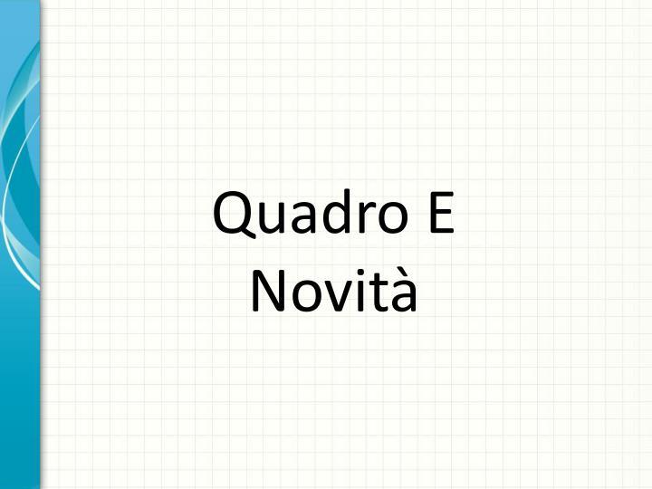 Quadro E