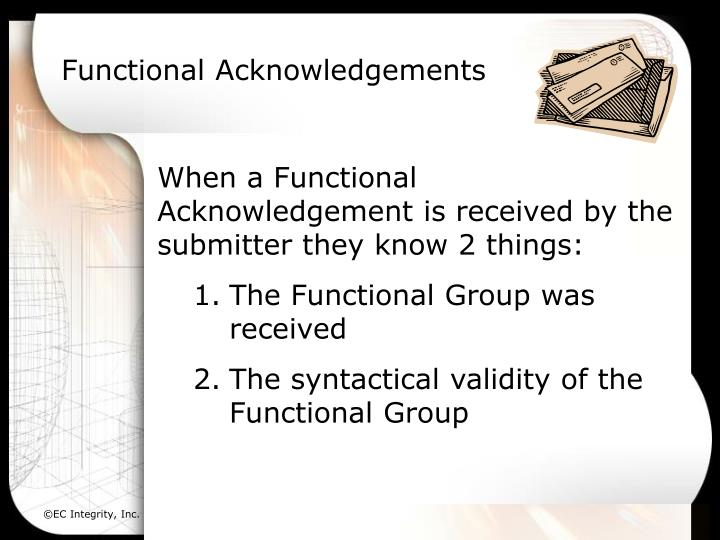 Functional Acknowledgements
