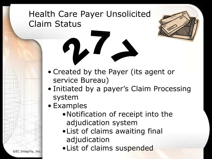 Health Care Payer Unsolicited