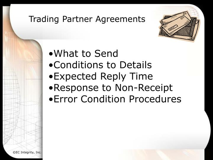 Trading Partner Agreements