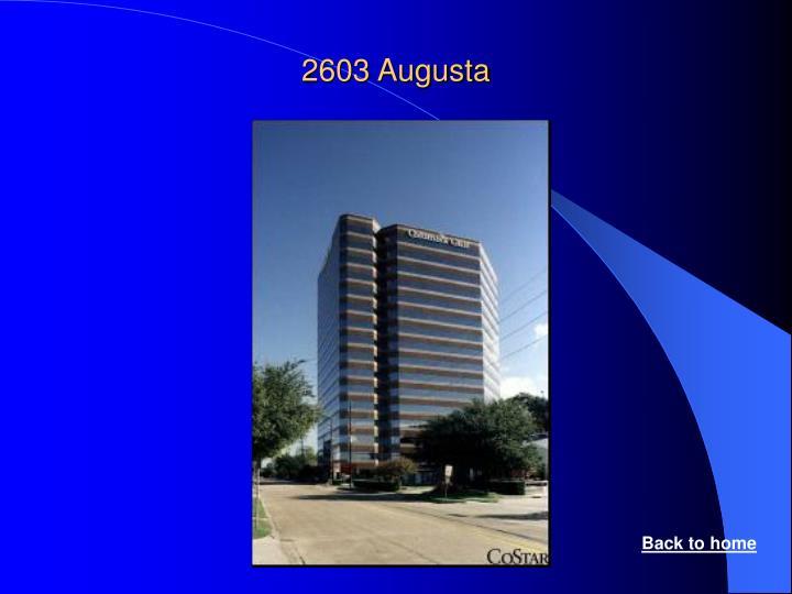 2603 Augusta
