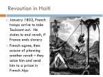 revoution in haiti