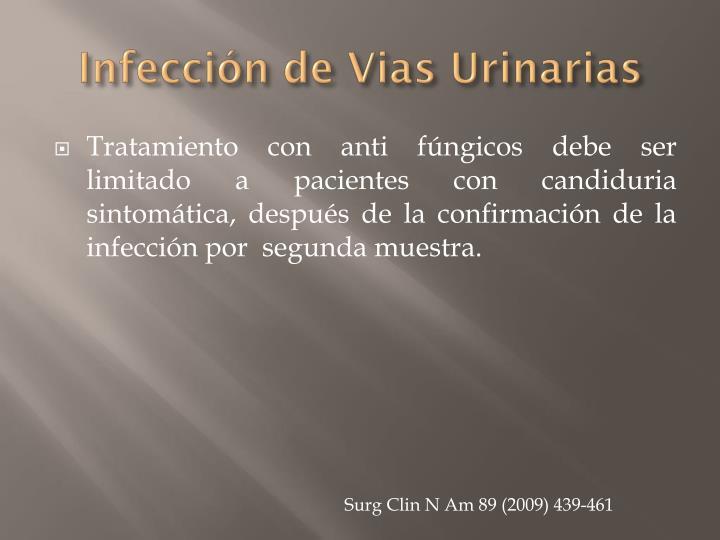 Infección de