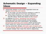 schematic design expanding ideas1