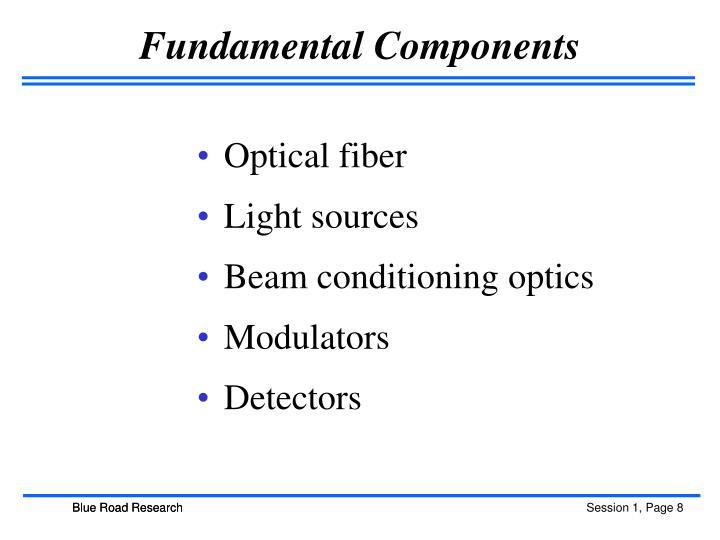 Fundamental Components