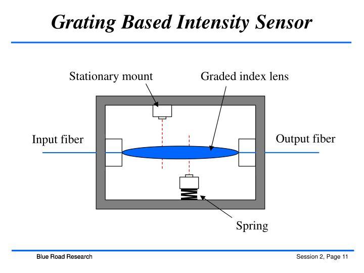 Grating Based Intensity Sensor