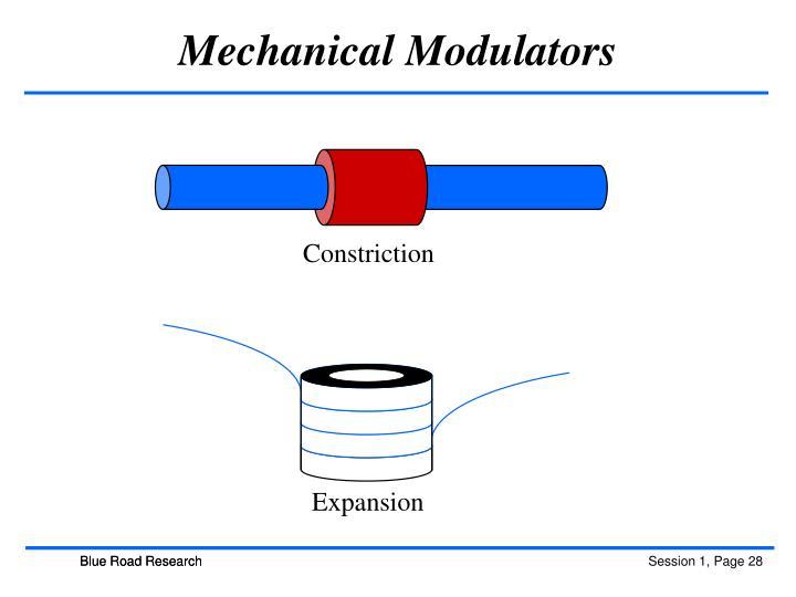 Mechanical Modulators