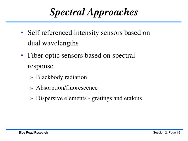 Spectral Approaches