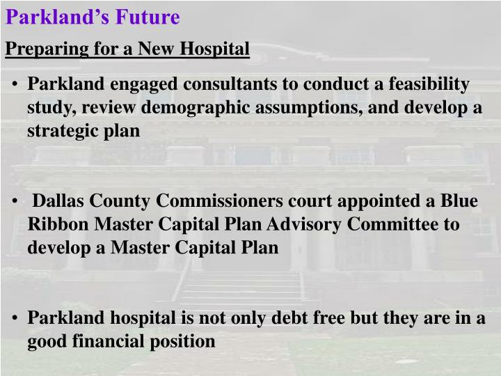 Parkland's Future