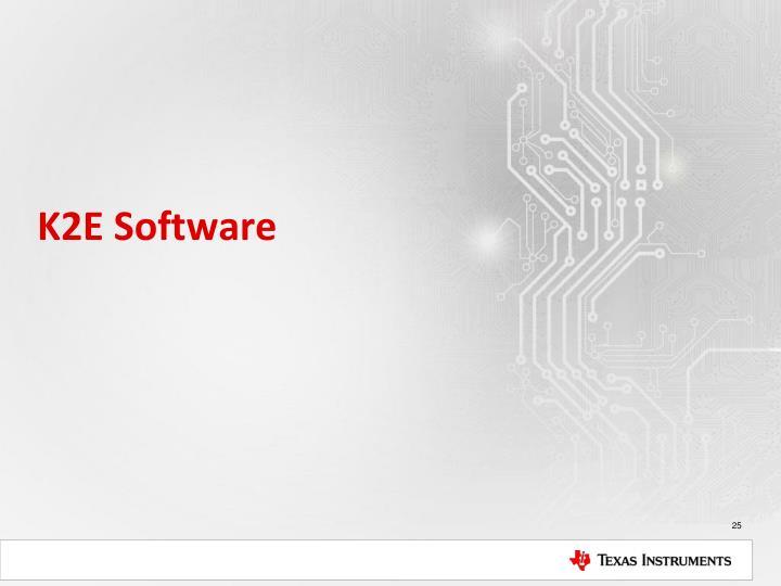 K2E Software