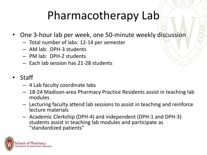 Pharmacotherapy Lab