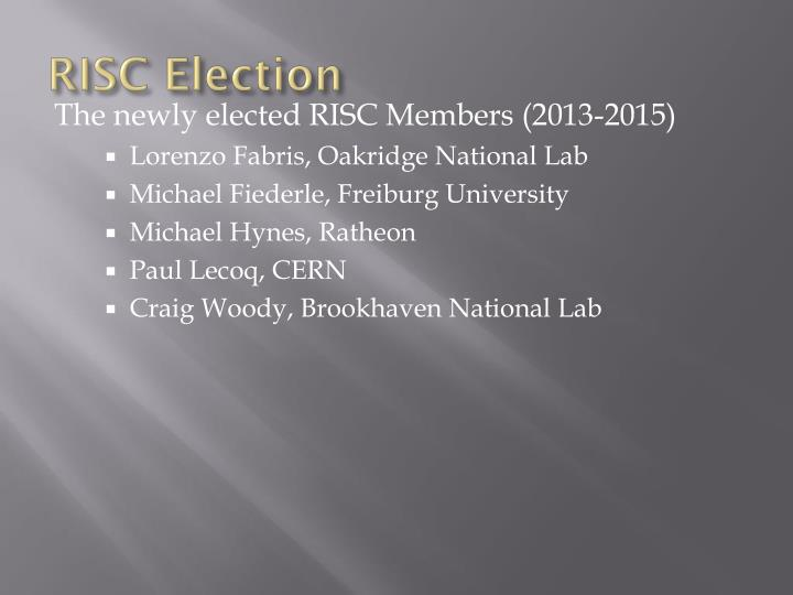 Risc election