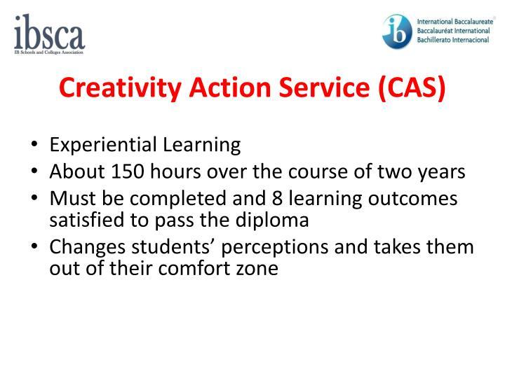 Creativity Action Service (CAS)