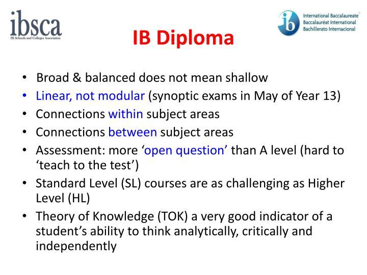 IB Diploma