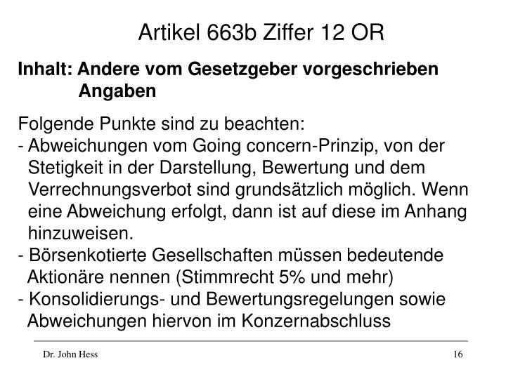 Artikel 663b Ziffer 12 OR