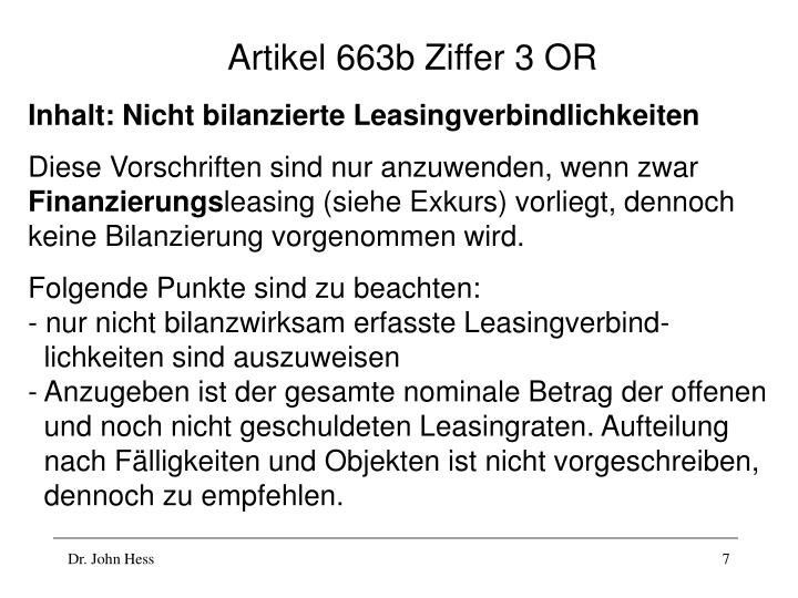 Artikel 663b Ziffer 3 OR