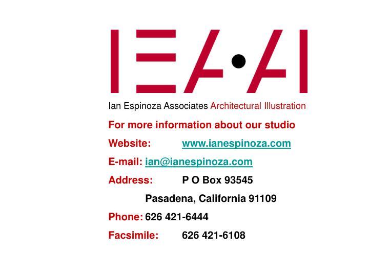 Ian Espinoza Associates