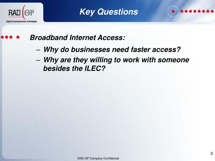 Broadband Internet Access: