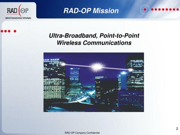 RAD-OP Mission
