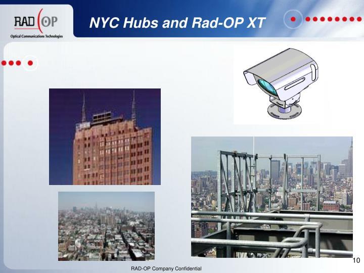 NYC Hubs and Rad-OP XT