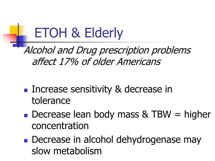 ETOH & Elderly