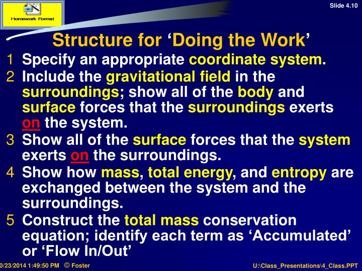 Structure for