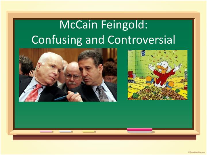 McCain Feingold: