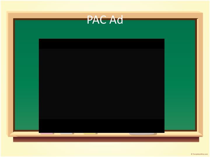 PAC Ad