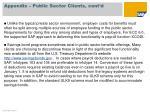 appendix public sector clients cont d2