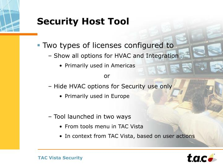 Security Host Tool