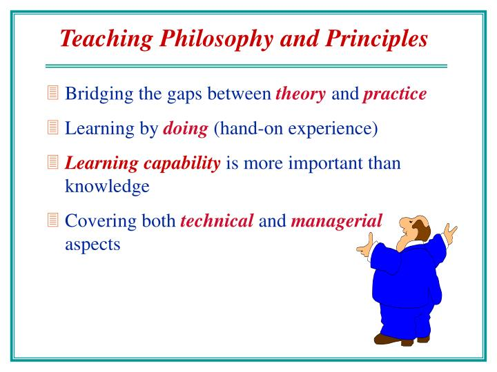 Teaching Philosophy and Principles