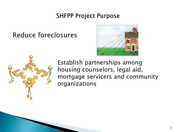 Shfpp project purpose