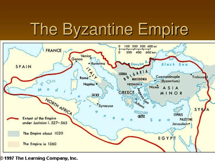 The byzantine empire1