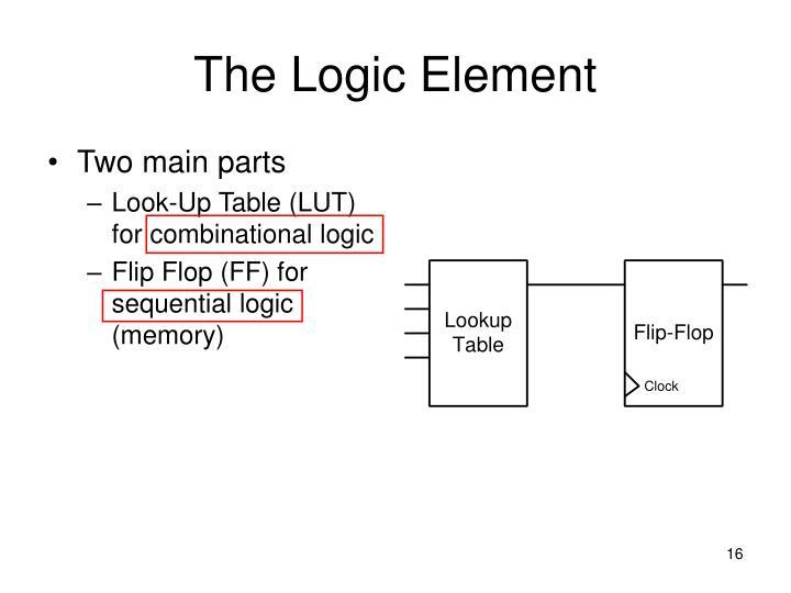 The Logic Element