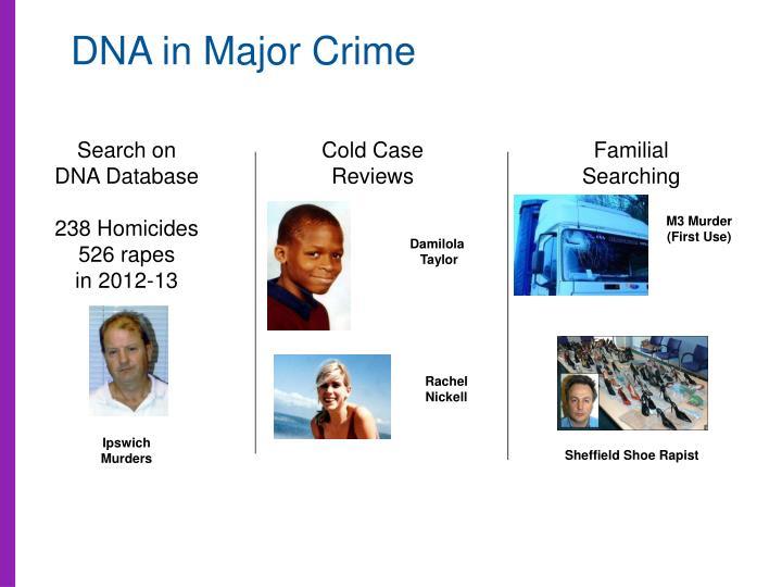 DNA in Major Crime