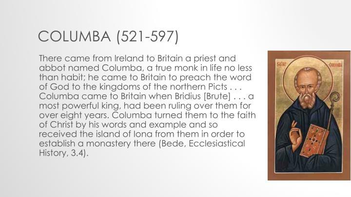 Columba (521-597)