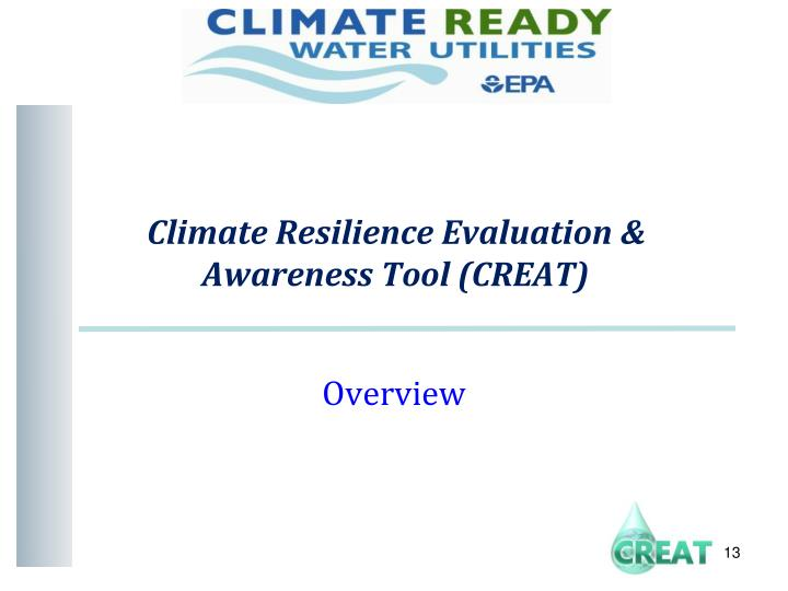 Climate Resilience Evaluation &